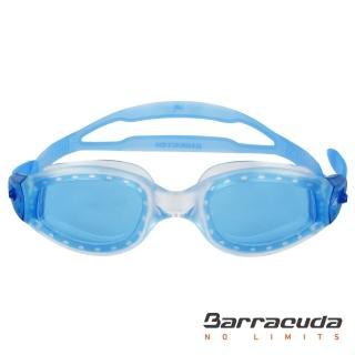 【美國巴洛酷達Barracuda】大廣角鏡面成人泳鏡-AQUATEMPO JR#12220(三鐵 蛙鏡)