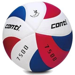 ║Conti║日本頂級超細纖維布排球-5號V7500-5-RWB
