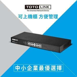 【TOTOLINK】SG16 16埠 Giga 極速乙太網路交換器(16 Giga)