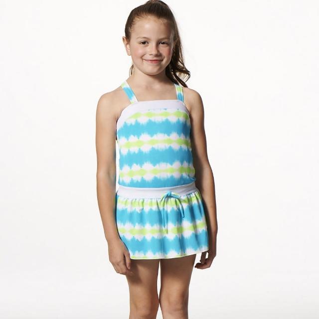 【SARBIS】MIT泡湯SPA女童二件式泳裝(附泳帽B82502)