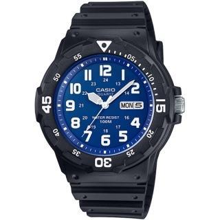 【CASIO】潛水風DIVER LOOK系列錶(MRW-200H-2B2)
