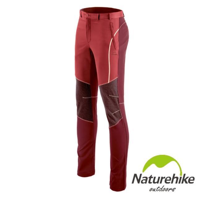 【Naturehike】拚色休閒褲/速乾褲/戶外褲 女款(磚紅)