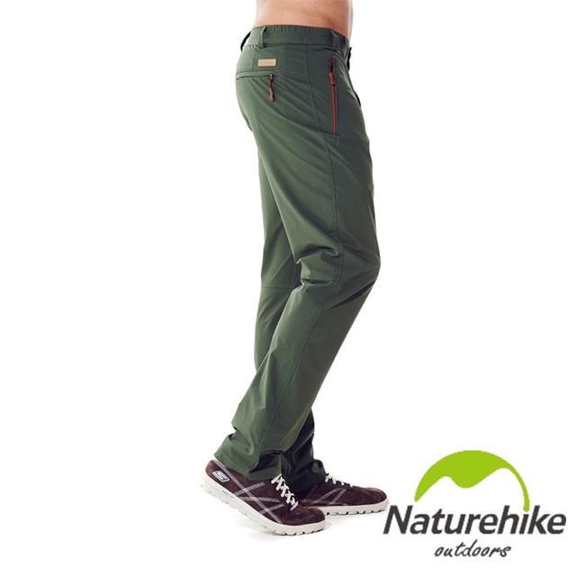 【Naturehike】單色休閒褲/速乾褲/戶外褲 男款(軍綠)