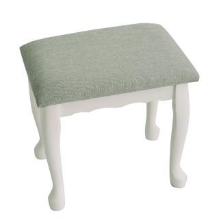 【完美主義】古典北歐公主風化妝椅/休閒椅(2色可選)
