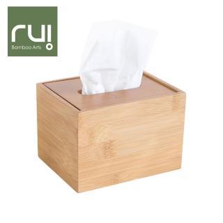 【Rui】台灣竹手工巧抽面紙盒(方型)