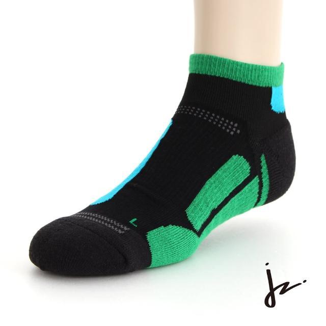 【JZ】萊卡彈力無限專業運動機能慢跑襪26-29cm(綠)