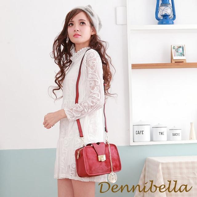 【Dennibella 丹妮貝拉】真皮斜背馬毛包-紅(4D170881205)