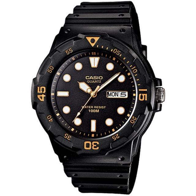 CASIO《 潛水造型運動款》防水100M~週年慶超低價 MRW-200H-1EVDF
