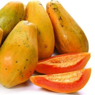 【果之家】香甜紅肉木瓜8台斤1箱(約4-10顆)