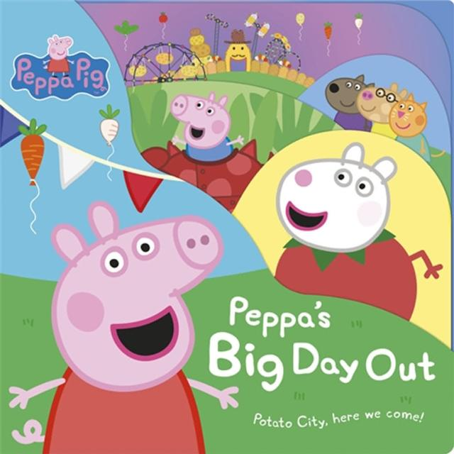 【Song Baby】Peppa Pig:Peppa's Big Day Out(硬頁書)