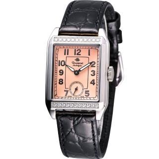 【玫瑰錶 Rosemont】戀舊系列時尚腕錶(TN002J-SP-BBK)