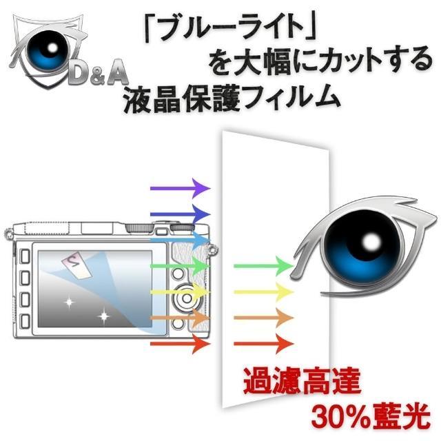 【D&A】國際牌 Lumix DMC-FZ300日本原膜增豔螢幕貼(9H防藍光疏油疏水型)