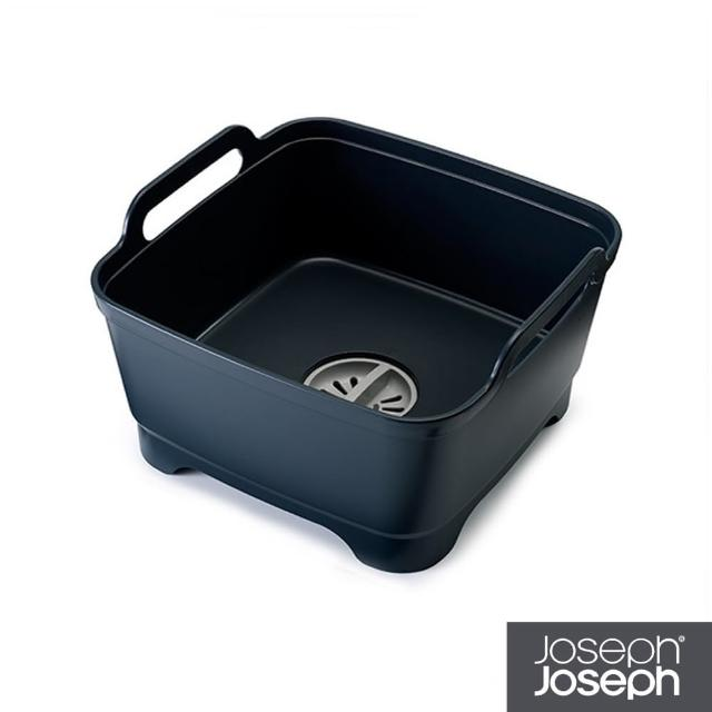 【Joseph Joseph 英國創意設計餐廚】好輕鬆省水洗碗槽-灰(85056)