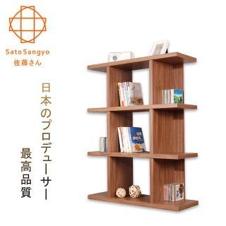 【Sato】FIZZ森隔間四層收納展示櫃‧幅90cm(展示櫃)