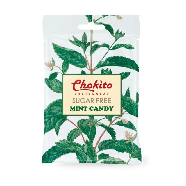 【Chokito】西班牙無糖薄荷糖袋裝 30g(無糖)