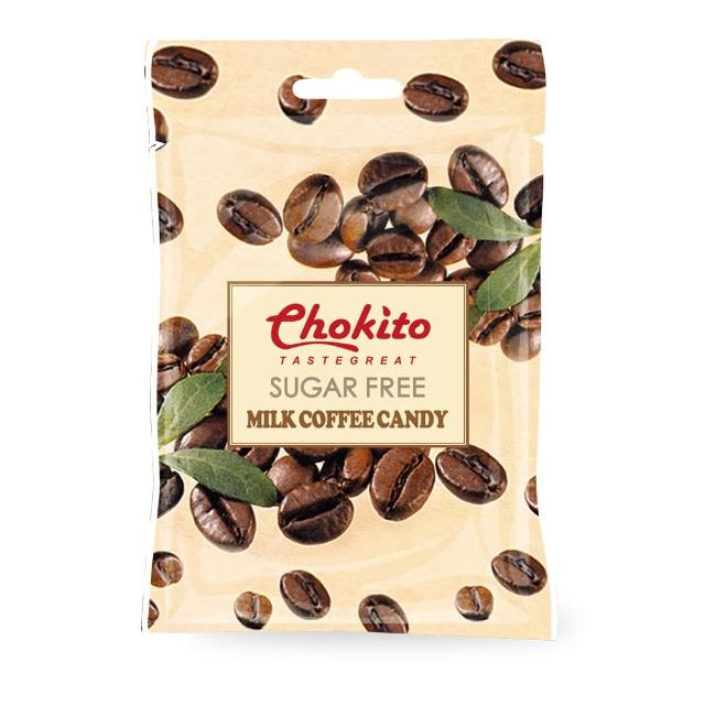 【Chokito】西班牙無糖牛奶咖啡糖 袋裝30g.(無糖)