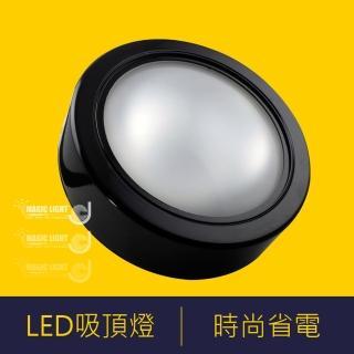 【光的魔法師 Magic Light】LED黑色薄型吸頂燈