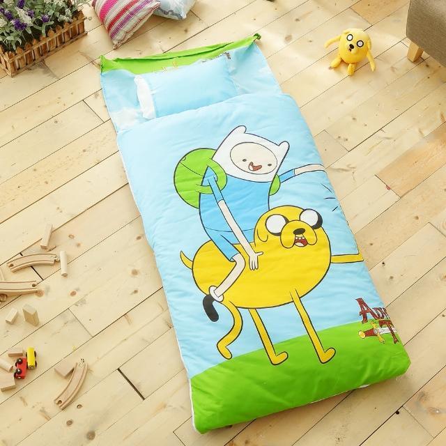 【HO KANG】冬夏鋪棉兩用 幼教兒童睡袋(老皮玩伴)