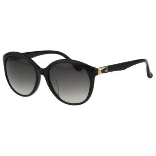 【Calvin Klein】- 時尚復古太陽眼鏡(黑色)