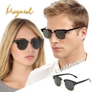 【MEGASOL】寶麗萊UV400防眩偏光太陽眼鏡(Dior設計師款-MS3016)