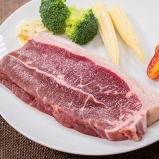 【鮮食家任選799】輝帛肉品 特選美國藍帶嫩肩牛排(150g/片)