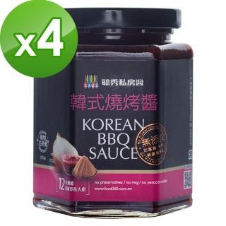 【毓秀私房醬】韓式醬4罐組(250g/罐)