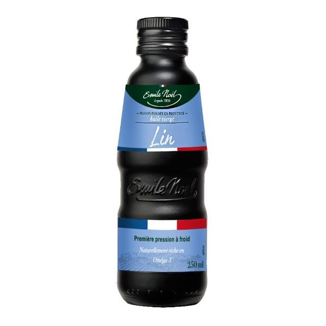 【法國原裝艾米爾諾耶】冷壓初榨亞麻仁油(250ml)