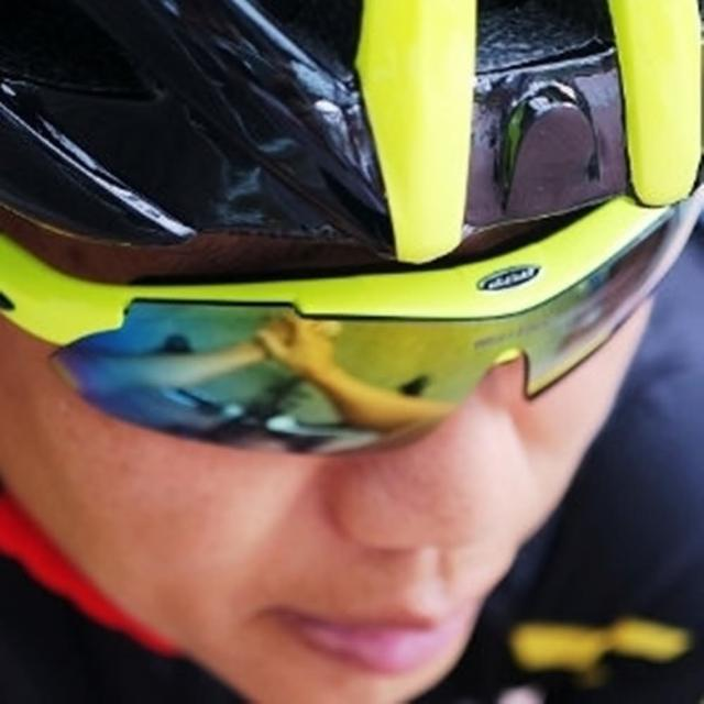【May Shop】單車運動眼鏡 可調式 太陽眼鏡(9件組)