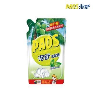 【泡舒】洗潔精 綠茶去油除腥-補充包800g(洗碗精)