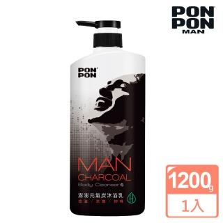 【澎澎MAN】植系沐浴乳 元氣炭控油-1200g