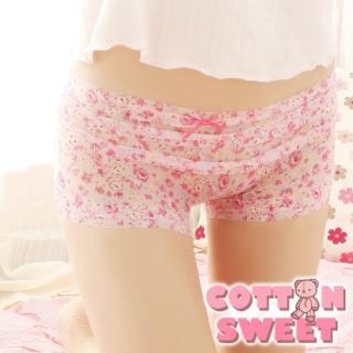 【棉花甜】嘟嘟彩妝 多層蛋糕 網紗內褲(粉紅 A-624)