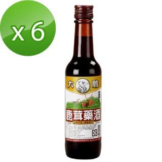 【大鵰】鹿茸藥酒300ml*6(乙類成藥)