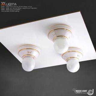 【光的魔法師 Magic Light】美術型輕鋼架燈具 卡森 輕鋼架三燈