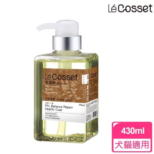 【Cosset寵時尚】愉悅毛髮蓬生-生薑+人參老犬 400ml(滋養育毛)