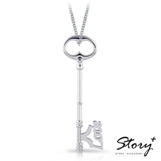 【STORY ACCESSORY】幸福之鑰-字母款長鑰匙項鍊