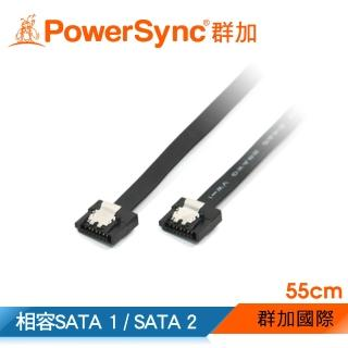 【群加 PowerSync】SATA3資料傳輸線 / 55CM(SATA3-55B)