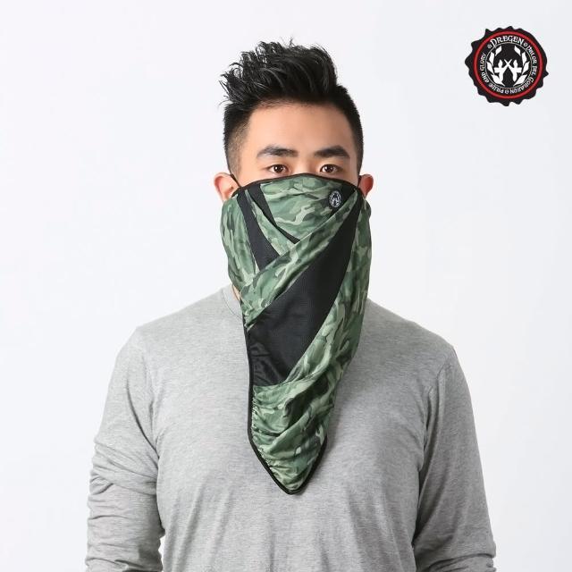 【DREGEN】BL系列-三角巾面罩(中性迷彩)