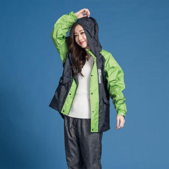 【BrightDay君邁雨衣】藏衫罩背背款-大人背包兩件式風雨衣(機車雨衣、戶外雨衣)