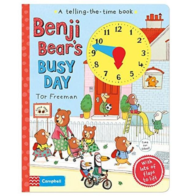 【Song Baby】Benji Bear's Busy Day 班吉熊熊的忙碌一天(操作書)