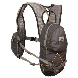 【美國 NATHAN】專業 HPL#020 2L水袋背包/含原廠水袋.自行車.游泳(深灰 NA5025NG)
