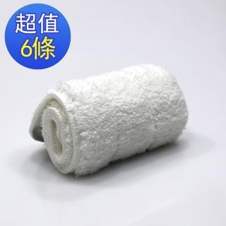 免沾手平板拖-除塵擦地打蠟布(6入)
