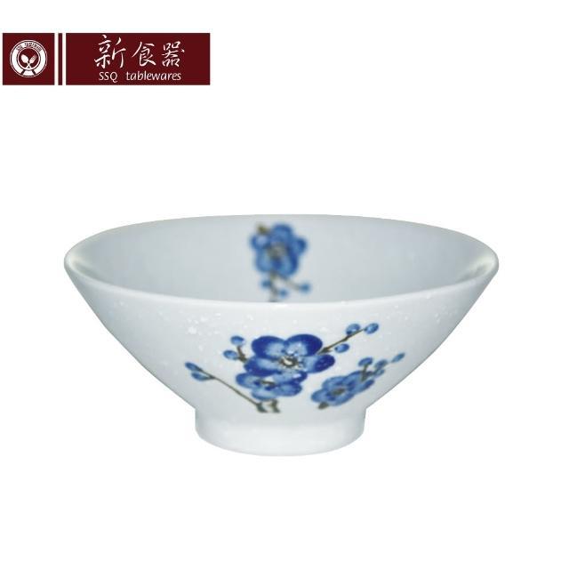 【新食器】蘭梅花香手繪5.75吋喇叭碗