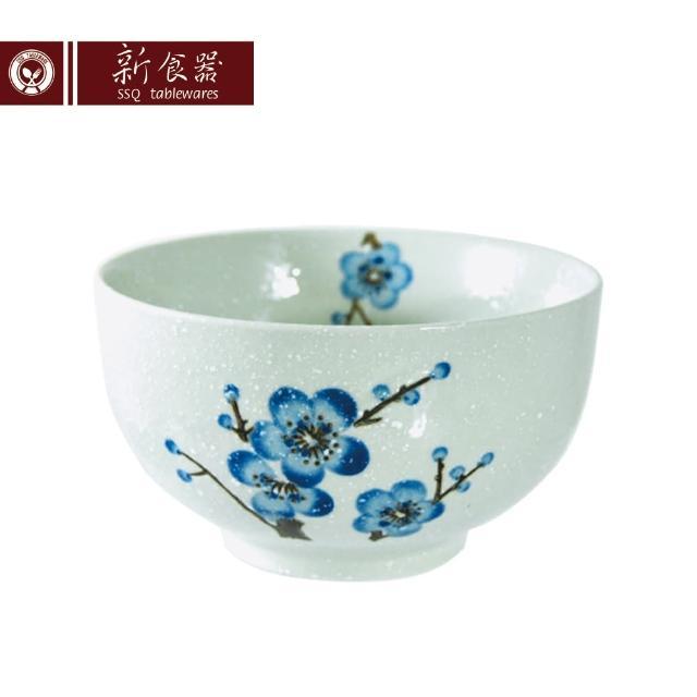 【新食器】蘭梅花香手繪6吋大肚碗(大碗公)