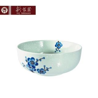 【新食器】蘭梅花香手繪8吋排骨湯碗