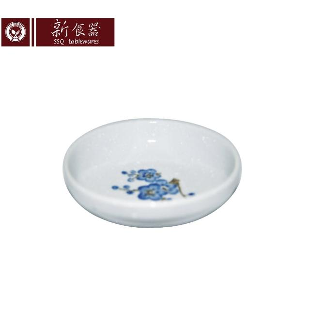 【新食器】蘭梅花香手繪3.75吋泡菜碟(1入)
