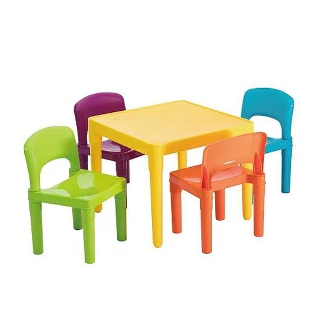 【孩子國】寶貝繽紛桌椅組