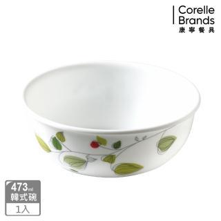 【美國康寧 CORELLE】473ml韓式湯碗-綠野微風(416)