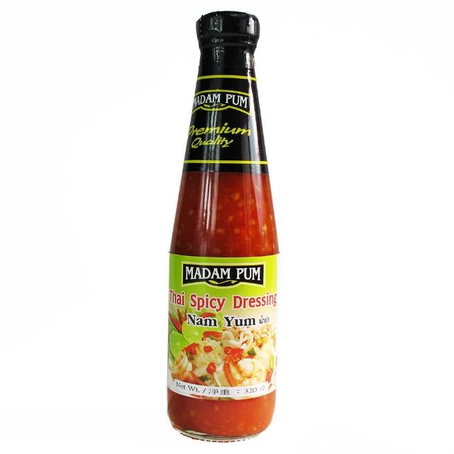 【蘋果市集】泰國MADAM PUM泰式萬用涼拌醬/涼拌青木瓜醬(310ml/瓶)