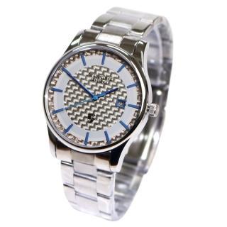 【Arseprince】碳纖科技時尚風潮中性錶(藍色)