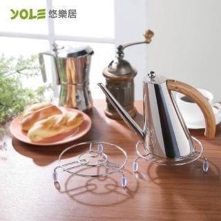 【YOLE悠樂居】鍋具隔熱墊-大(3入)